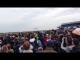 Посадка А380 на МАКС 2013